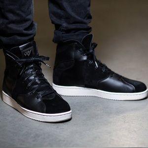 Jordan WestBrook Suede Leather Triple Black SZ 11